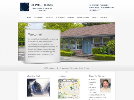 Dr.Paul J Tiernan Website