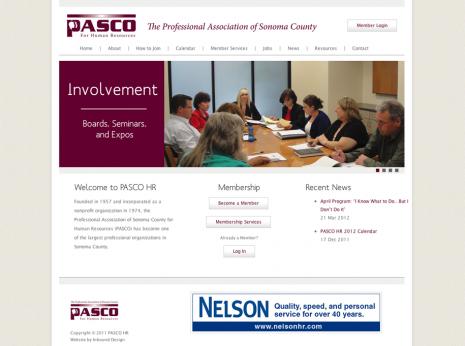 PASCO HR Website