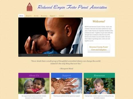 Redwood-Empire-Foster-Parent-Association Website