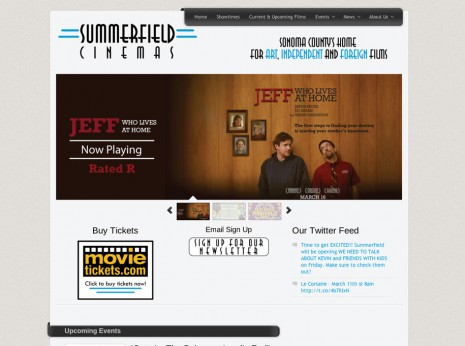 Summerfield Cinemas Website
